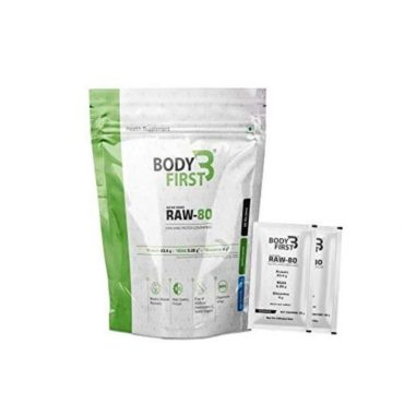 Body First Raw-80 Whey Protein Concentrate Unflavored 960gm
