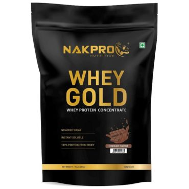 Nakpro Gold 100% Whey Protein Concentrate 1Kg Chocolate