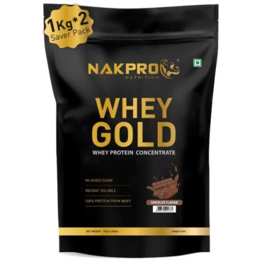 Nakpro Gold 100% Whey Protein Concentrate 2Kg Chocolate