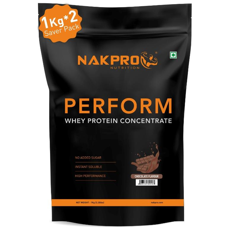 Nakpro Perform Whey Protein Concentrate 2kg Chocolate