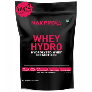 Nakpro Raw Hydrolyzed Whey Protein 2kg Unflavoured