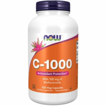 Now Vitamin C-1000 mg 250 Tablets