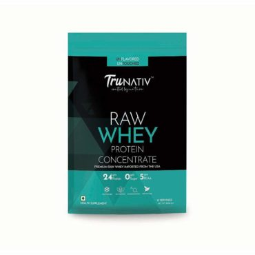 TruNativ Raw Whey Concentrate 1kg unflavoured