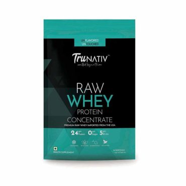 TruNativ Raw Whey Concentrate 500gm unflavoured