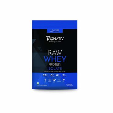TruNativ Raw Whey Isolate 1kg unflavoured