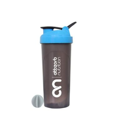 Abbzorb Nutrition Big Shaker Bottle with Mixer Ball 700 ml