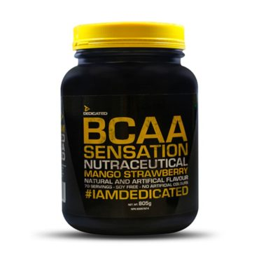 Dedicated Nutrition BCAA 70 Servings Mango Strawberry
