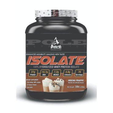 Pole Nutrition Isolate 76 Servings 5 Lbs