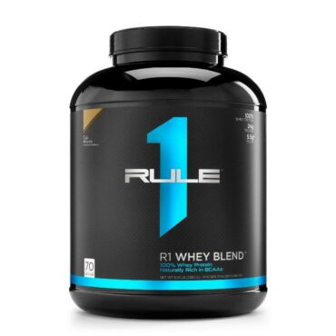 Rule 1 R1 Whey Blend 100% Pure Whey Protein 5Lbs 70 Servings
