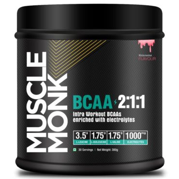 Muscle Monk BCAA 2:1:1 with electrolytes Watermelon 300g