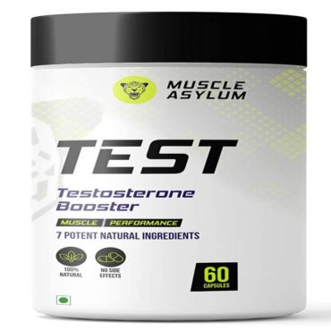 Muscle Asylum TEST Muscle Performance 60 Capsules
