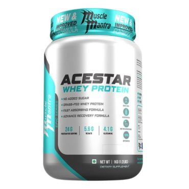 Musclemantra Epic Series Acestar Whey Protein 1kg