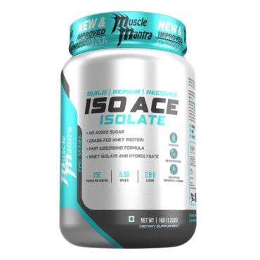 Musclemantra Epic Series Iso Ace 1kg
