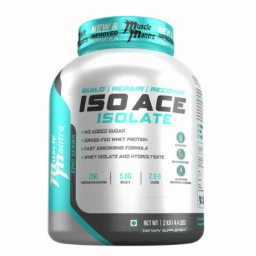 Musclemantra Epic Series Iso Ace 4..4 lbs, 2 kg