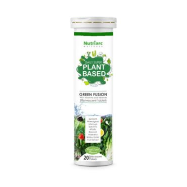 Nutriarc Wellness Daily Super Immunity Green Fusion 20 Effervescent Tablets.
