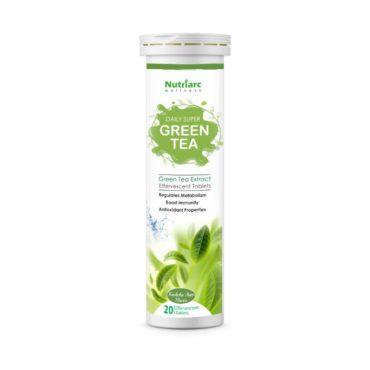 Nutriarc Wellness Green Tea Extract 20 Effervescent Tablets