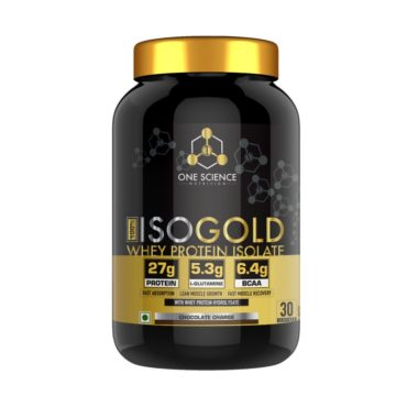 One Science ISO GOLD Whey Protein Isolate 2lb