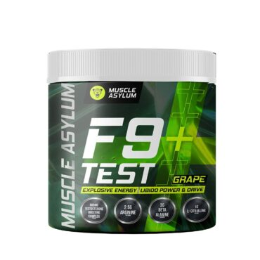 Muscle Asylum F9 + Test | Pre-Workout with Test Booster - 30 Servings