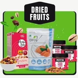Dried Fruits, Nuts & Seeds