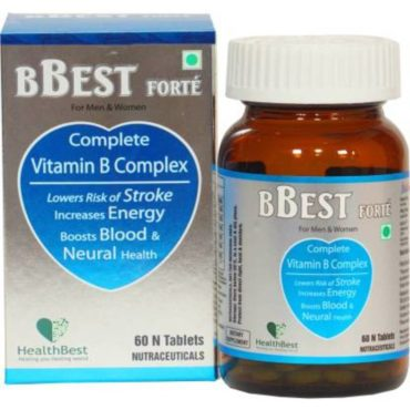 HealthBest B-Best Forte 60 Tablets