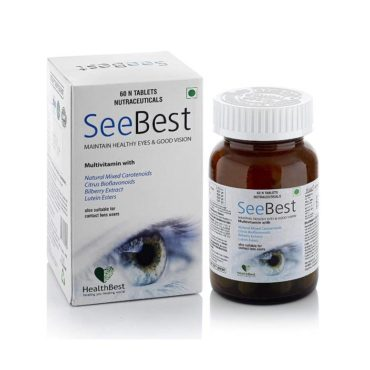 HealthBest Seebest Maintain Healthy Eyes and Good Vision 30 Tablets
