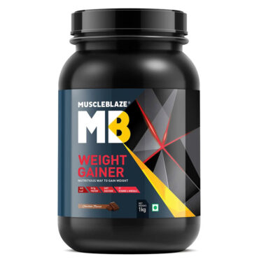 MuscleBlaze Weight Gainer with Added Digezyme 1 Kg-4