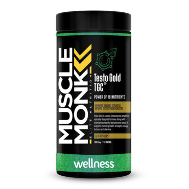 MuscleMonk Testo Gold TGC Power Of 18 Nutrients 1000mg 60 Capsules
