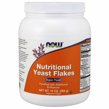 Now Nutritional Yeast Flakes 284 g