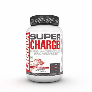 Labrada Super Charge Pre Workout 35 Servings cranberry
