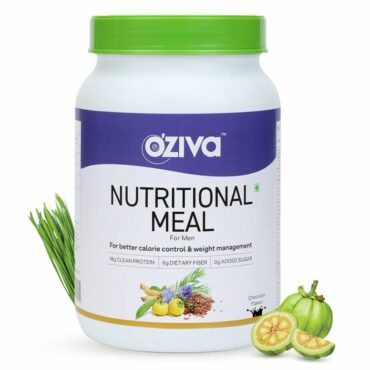 OZiva Nutritional Meal for Men 2.2 lbs, 1 kg Chocolate11