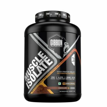 Gibbon Muscle Isolate Chocolate 4.4 lbs 2 kg