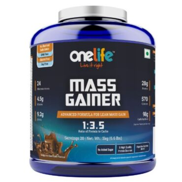 Onelife Mass Gainer For Lean Mass & Muscle Gain